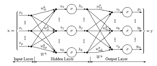 Diagram of a Multilayer Perceptron